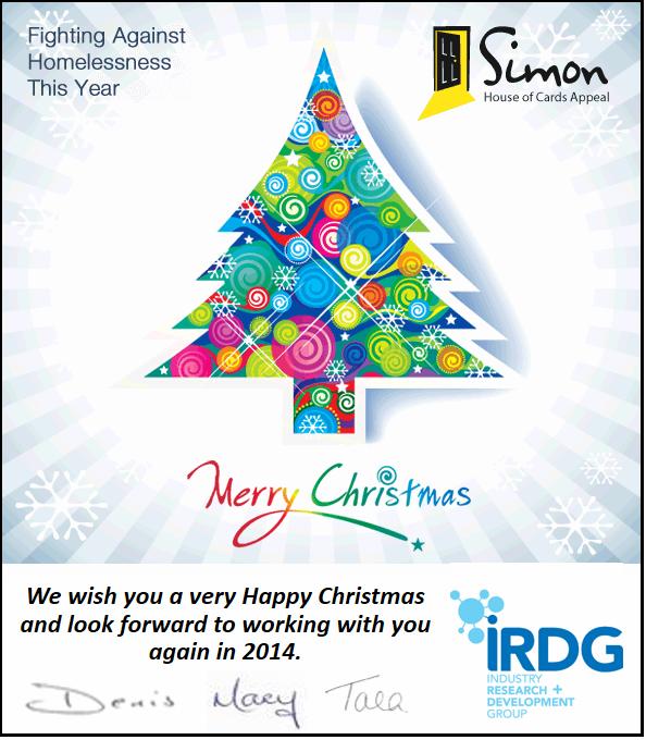 IRDG Christmas Card