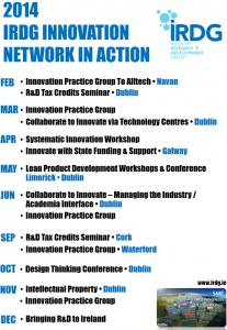 IRDG Calendar of Activity 2014