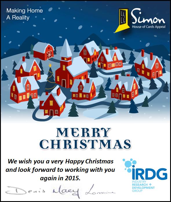 IRDG Christmas Card 2014