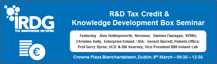 IRDG R&D Tax Credit & Knowledge Development Box