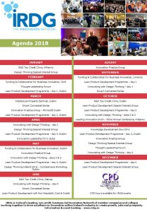 IRDG Calendar of Events 2018